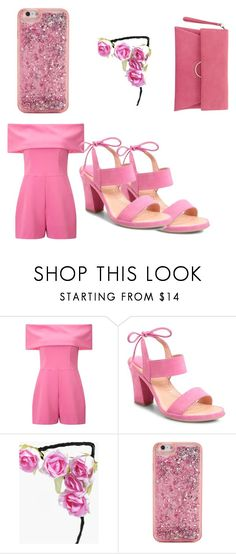 """Fifty shades Of Pink"" by blackbeautyiscutie123 on Polyvore featuring Miss Selfridge, Ono, Boohoo, ban.do and Mint Velvet"