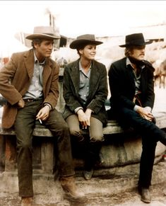 Paul Newman, Katharine Ross & Robert Redford - Butch Cassidy and the Sundance Kid (1969)