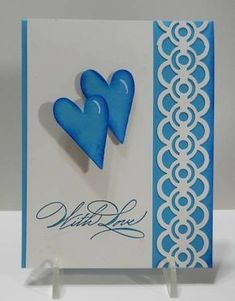 IC375 Blue For You by jandjccc - Cards and Paper Crafts at Splitcoaststampers