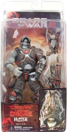 Neca - Gears of War série 3 figurine Locust Drone Cyclops 18 cm