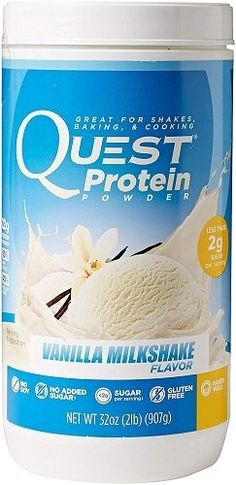 Quest Nutrition Protein Powder, Vanilla Milkshake, Protein, Soy Free, Tub -- Details can be found by clicking on the image. Quest Protein Powder, Protein Powder Reviews, Protein Powder Pancakes, Low Carb Protein Powder, Protein Powder Shakes, Protein Blend, Vanilla Protein Powder, High Protein, Protein Power