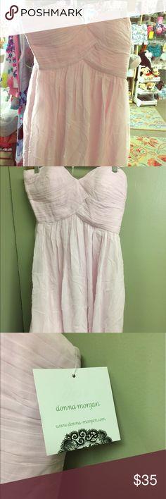 Donna Morgan fancy dress size 8 nwt Strapless fancy/bridesmaids dress Donna Morgan Dresses Midi