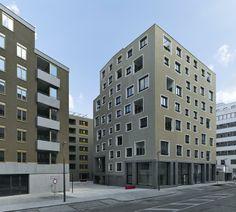 Sergison Bates nordbahnhof 122 urban housing and community space . vienna