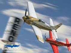 The Reno Air Races take place each September - billed as 'the world's fastest motor sport' it began in 1964. Aircraft in the Unlimited class consist of modified World War II fighters at speeds of 400 + miles per hour. In 2003, Skip Holm piloted the P-51D Mustang, Dago Red, to a speed record of 507 mph