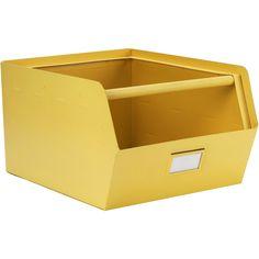 Kidsdepot Original Metalen Opberger Metal Box, House Doctor, Storage Bins, Retro, Cool Kids, Toy Chest, Baby Kids, Kids Room, New Homes