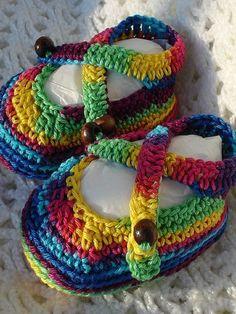 5 Crochet Cute Baby Sandals For Lovely Little Feet