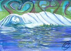 Sleeping Lady Alaska-Sevigny