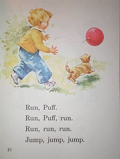 Dick and Jane Books Vintage Readers