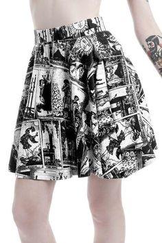 Tarot No Prediction Skirt [B] | KILLSTAR