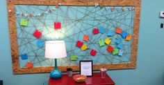 The Blessing Wall!     Walking into the room and seeing all the kid's blessings just makes you smile.   Isn't it a WONDERFUL thing to co...