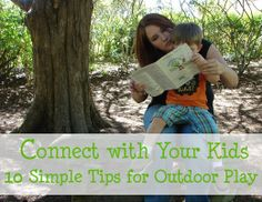 Connecting with your Children Outdoors