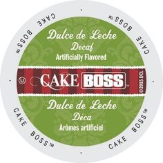 Cake Boss Coffee Dulce De Leche Decaf, Single Serve Cup Portion Pack for Keurig K-Cup Brewers (96 Count) (4x64oz)