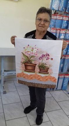 Bead Embroidery Jewelry, Beaded Embroidery, Decoupage Vintage, Painted Clothes, Kitchen Art, Fabric Painting, Folk Art, Diy And Crafts, Planter Pots