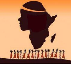 Women of Africa African Safari, African Art, African Crafts, African Beauty, Caricatures, African Paintings, Art Therapy Projects, Black Artwork, Afro