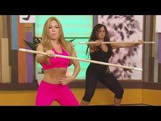 Claudia Molina te enseña a liberar la tensión con ejercicio - YouTube