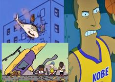 Simpsons knew Kobe Bryant's death Nba Players, Basketball Players, Vanessa Bryant, Los Angeles Police Department, Larry Bird, Derrick Rose, Detroit Pistons, Oklahoma City Thunder, San Antonio Spurs