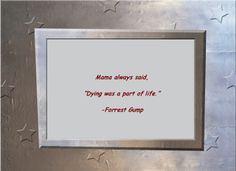 Forest Gump quote