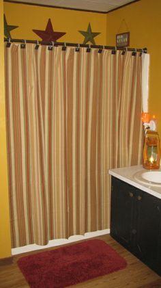 Primitive Bathroom Decor | Primitive Bathroom, Our bathroom after we decorated a little ...