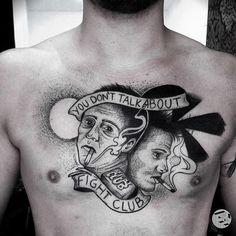 Tattoo Tatuagem Farfalla Ink fight club