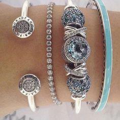 >>>Pandora Jewelry OFF! >>>Visit>> Brighton bangle and bracelet with blue charmspandora charms pandora rings pandora bracelet Fashion trends Fashion designers Casual Outfits Street Styles Women's fashion Runway fashion Pandora Bracelet Charms, Pandora Rings, Pandora Jewelry, Charm Jewelry, Fine Jewelry, Charm Bracelets, Pandora Beads, Fashion Bracelets, Fashion Jewelry