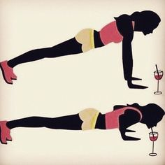 Will do push ups for Wine