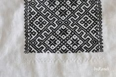 byRandi: Hvordan sy smøyg til bunad? Hardanger Embroidery, Coding, Costumes, Crafts, Ethnic, Ornament, Random, Art, Pattern