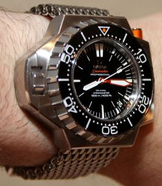 Omega Seamaster Ploprof 1200M Watch Review   wrist time watch reviews