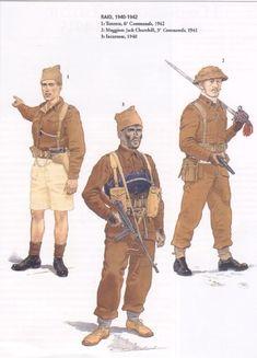 British Commandos 1940-1942