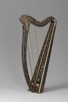 John Egan, Portable Irish harp, c.1820