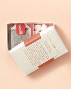DIY sweet-tea kits for a refreshing summer wedding favor