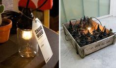 15 ausgefallenen Recycling-Lampen