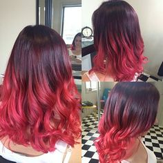 #LoveHair #Color #Red  #Shatush