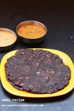 ragi adai - tasty and healthy breakfast #indianfood #food #recipes #vegetarian #breakfast