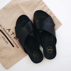 ATP Atelier Sandals | KindofLuxe.com | @styleminimalism #atpatelierspaces #atpatelier
