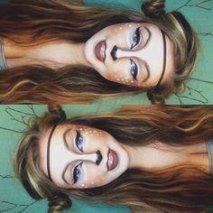doe costume makeup