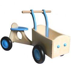 bakfiets lichtblauw van dijk toys | ilovespeelgoed.nl | gratis ingepakt & verstuurd