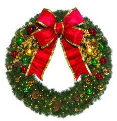 Classic Decorated Commercial Wreath