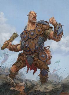 Shield ogre by Emiljart.deviantart.com on @DeviantArt