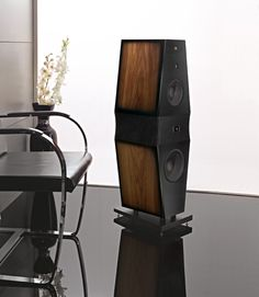 """...The 6-1/2"""" and 8"""" Nomex woofers are held in place by means of a vibration-damping system. This feature allows an efficient control of structure-borne vibration, resulting in commanding, sharp and controlled low frequencies... #rossofiorentino #loudspeakers #volterra #hifi #hiend"""
