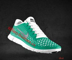 Cheapest Mens Nike Free 3.0 V4 New Green Reflect Silver Pure Platinum Bright White Lace Shoes