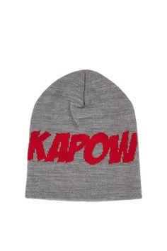 deece187e6b Kapow Slogan Beanie - Hats - Accessories - Topshop