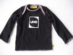 uno card fame - - birthday shirt - freezer stencil idea