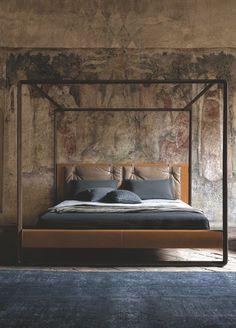 Lit et matelas design et confortable pour la chambre à coucher