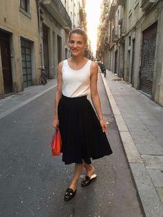 Emi en Barcelona