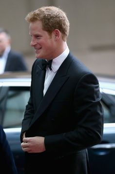 onemoreblogaboutroyals:  Prince Harry attends Crystal Ball Gala Dinner