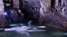 Rare wakeboarding footage in the wondrous Jeita Grotto In Lebanon. CLICK ON PICTURE TO SEE VIDEO