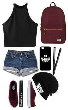 """Untitled #533"" by alexia-ccxii ❤ liked on Polyvore featuring Chicnova Fashion, Vans, Herschel Supply Co. and Casetify"