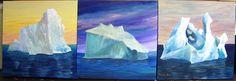 3- 20X20 Icebergs