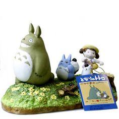 Studio Ghibli My Neighbor Totoro Ceramic Music Box (Walking)