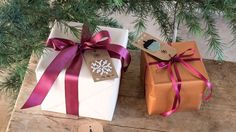 DIY: Manila tags for Christmas presents by Søstrene Grene